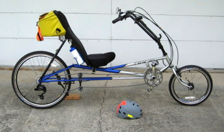 RANS Stratus LE recumbent bicycle